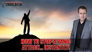 How to stop a panic attack instantly