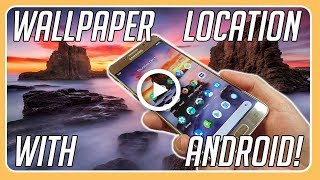 How To Transfer Any Wallpaper From Your Android Phone To Your Pc!