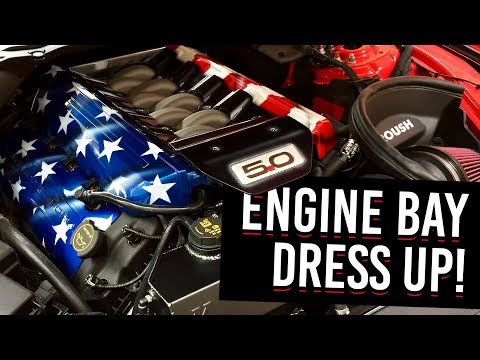 Dressing Up My Mustang Engine Bay!