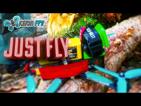 FPV Freestlye   NO fancy TRICKS   relaxed ⁴k   smooth your finger