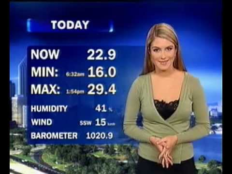 STW National Nine News Perth - Weather (March 11, 2004)