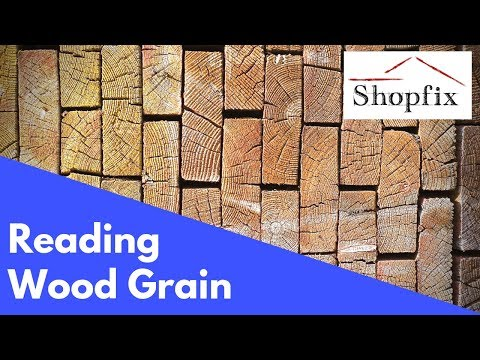 How To Read Wood Grain Direction - Woodworking Tip