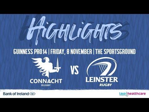 Connacht 11 Leinster 42 | Guinness PRO14 Highlights