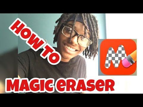 How To Erase Background On IPhone | Magic Eraser App