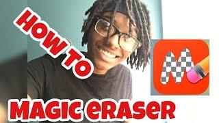 how To Erase Background On iPhone  Magic Eraser App
