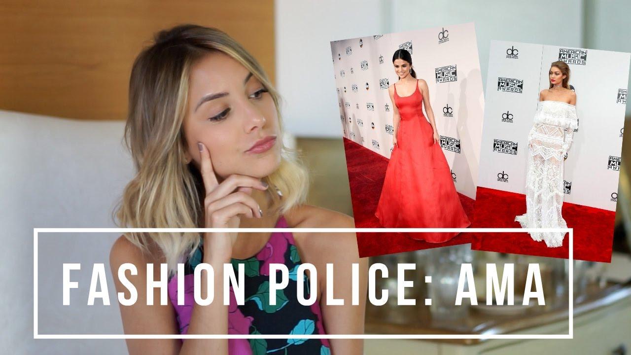 8a5e3a169 Fashion Police: Look das celebridades no AMA - YouTube