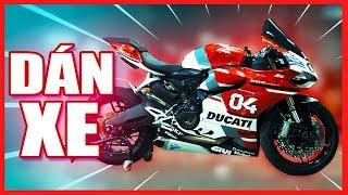 PKL - Dán decal xe mô tô ở đâu? (The best place for motorcycle wrapping in Saigon)