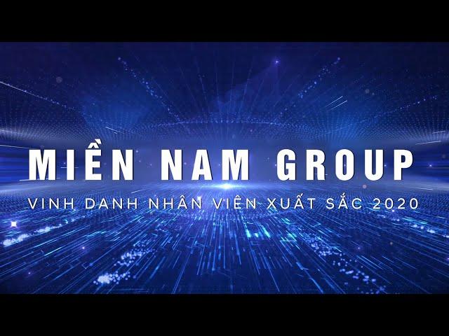 Vinh danh nhân viên xuất sắc khối văn phòng 2020 | Miền Nam Group