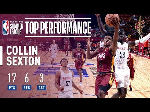 Collin Sexton vs. Scores 17 Points In Win vs. Houston Rockets Highlights