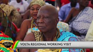 Presidential Diary: Tour of the Volta Region