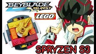 Бейблэйд Берст з Лего Робимо Spryzen S3 VS Hasbro BeyBlade Burst