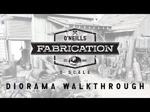 A Video Walkthrough of O Scale O'Neills Fabrication Part One
