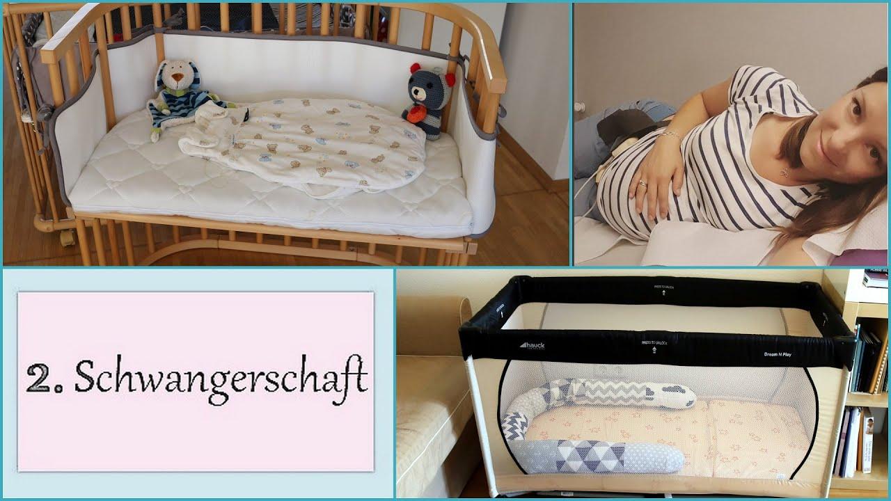 Schwangerschaftsupdate: babybay laufstall und matratze