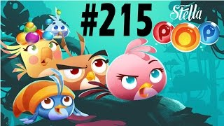 Angry Birds Stella Pop Level-215 Walkthrough For Android