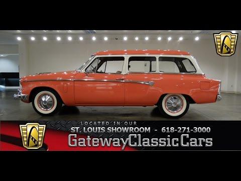 1955 Studebaker Conestoga - Gateway Classic Cars St. Louis - #6796