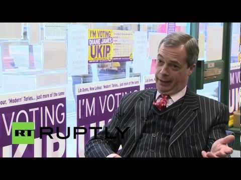 UK: Conservative Party in its deepest crisis in history, says UKIP