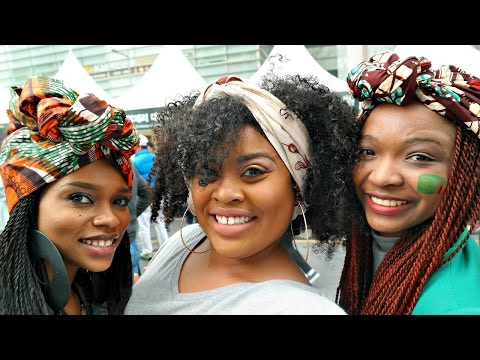 Seoul African Festival VLOG (Yes Koreans LOVE African Culture)