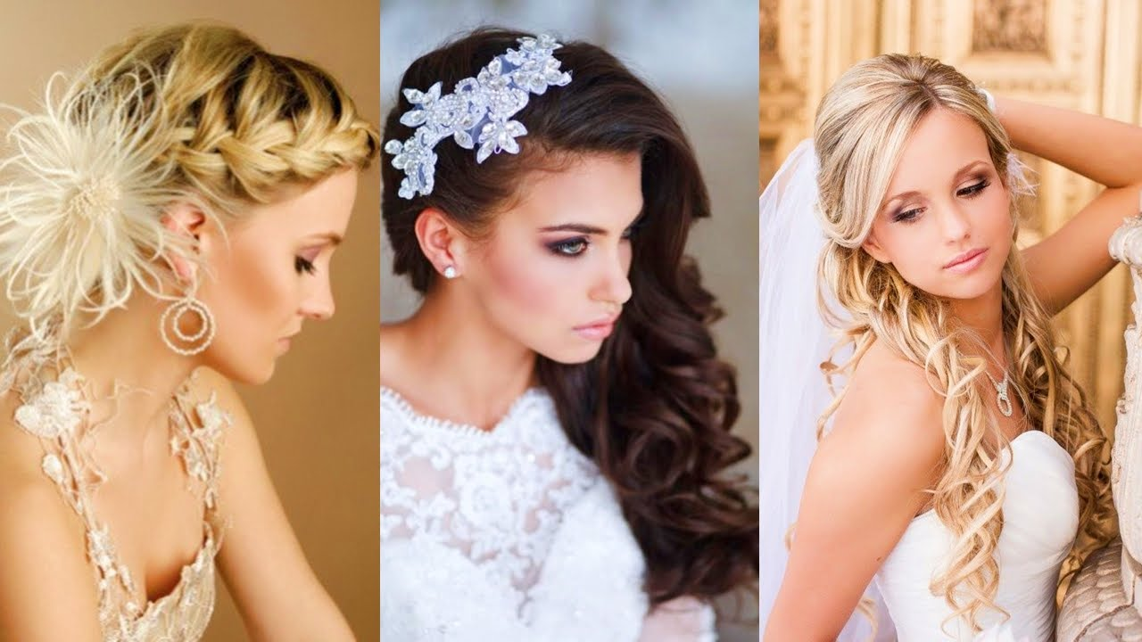 Peinados para novias jovenes