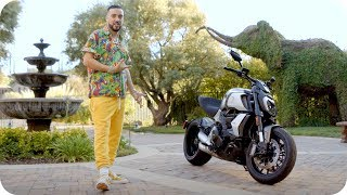 Hang with French Montana & Win the Ducati from His Music Video // Omaze