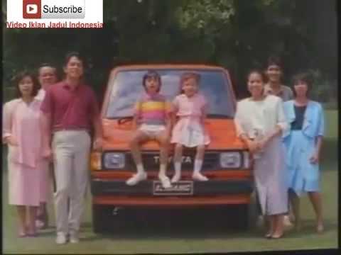 Iklan Jadul Mobil Kijang 1986 [lagunya mantap banget]