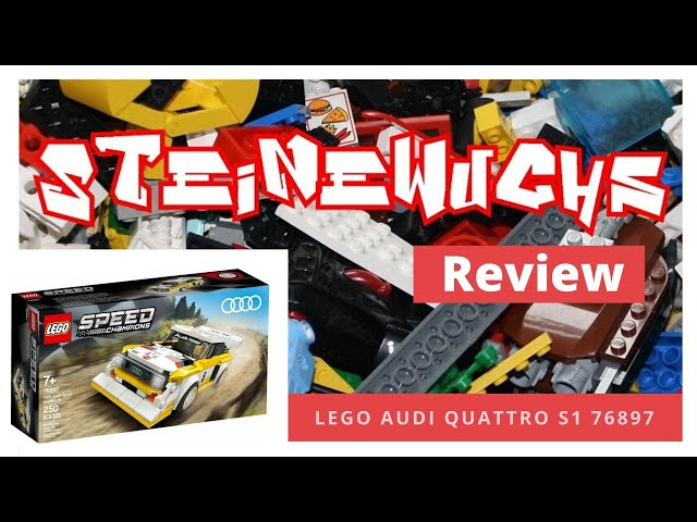 Review - Lego 76897 Audi Quattro
