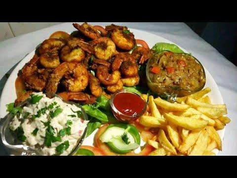 Crevettes panée à