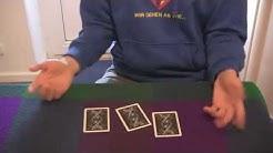 """Der Beste """"3 Card Monte"""" Kartentrick mit Erklärung"""