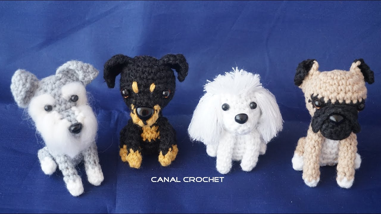 Perritos amigurumi tutorial - YouTube