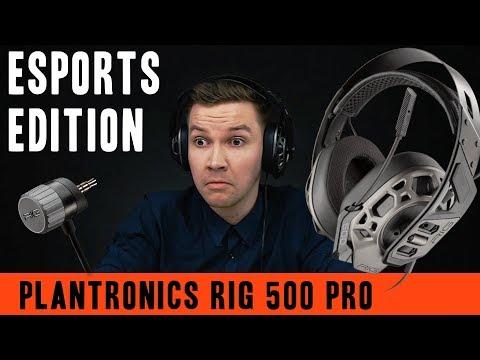 Plantronics RIG 500 PRO E-Sports Edition Headset - Video