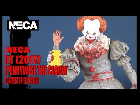 Toy Spot | NECA IT 2017 Pennywise Gamestop Exclusive Figure