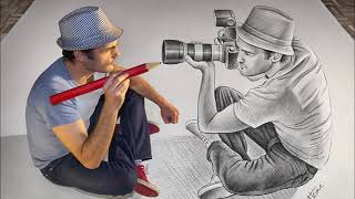 Amazing Drawing |  BEST of Giant 3D Anamorphic Drawings