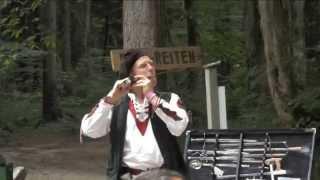 Schwertschlucker am Mittelaltermarkt Piding 2015