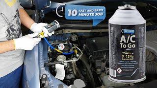 Jak napełnić klimatyzację w samochodzie? Zestaw do samodzielnego nabijania klimatyzacji AcToGo R134a