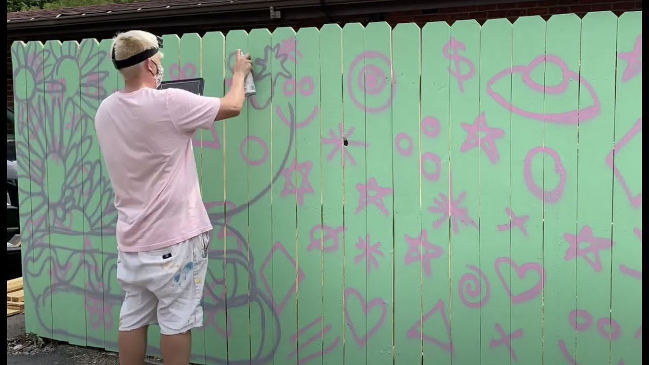 DOODLE GRID SYSTEM - Studio Time With ZAC #20 - A Mural For Deer Creek Diner - Zachary Rutter Art