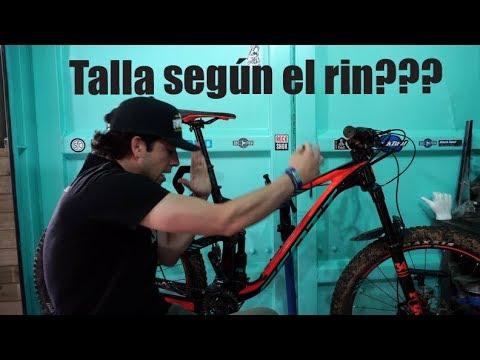 Tallas según el Rin de la bici!