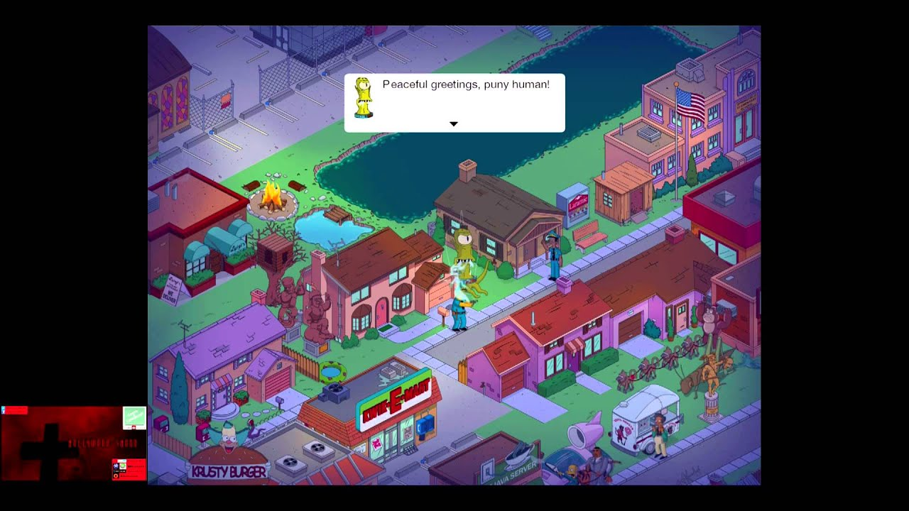 Simpsons Springfield Halloween 2013 Hack Android