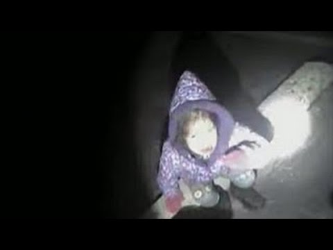 Video POLICE FIND 3-yr GIRL In FREEZING PARKING LOT After CARJACKING! COLD ALONE Police VIDEO RAW