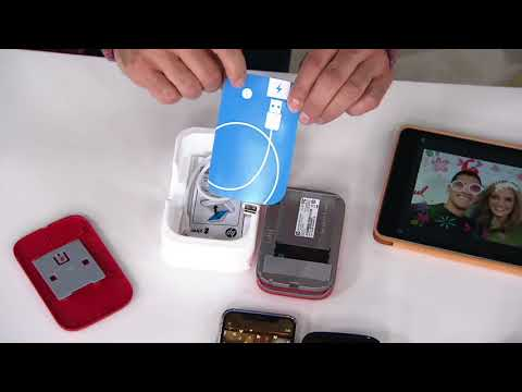 Hp Sprocket Portable Photo Printer For Mobiledevices On Qvc Youtube