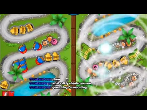 Bloons TD Battles: 2 Hackers in One Video!