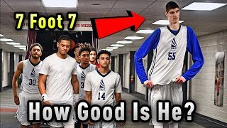 "How GOOD Is LaMelo Ball's 7'7"" Teammate Robert Bobroczky ACTUALLY? (2018 Update)"