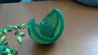 How To Make 3d Origami Flower Suport