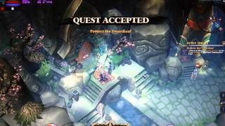 PC Ati 3870 1440x900 Maxed Torchlight 2 Gameplay - FPS Counter