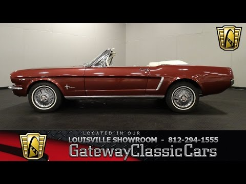 1964 1/2 Ford Mustang Convertible  - Louisville Showroom - Stock # 1314