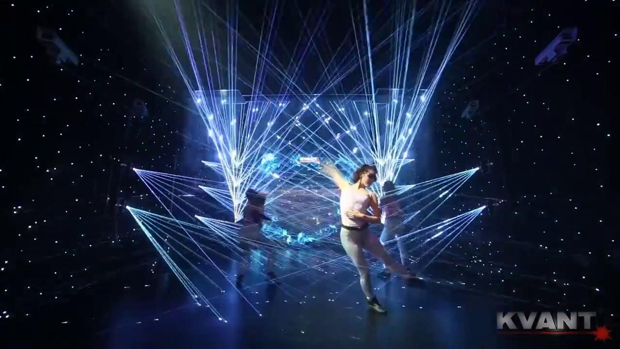 Kvant Laser Show on Prolight & Sound 2017