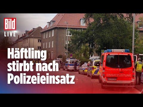🔴 Geiselnahme in Gefängnis in Münster! Täter bei Polizei-Großeinsatz erschossen | BILD Live