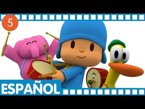 Pocoyó - Media hora en español (S01 E17-20)