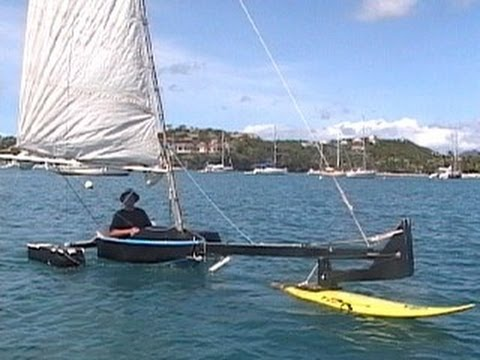 Best Of Rc Hydrofoil Trimaran Funnydog Tv
