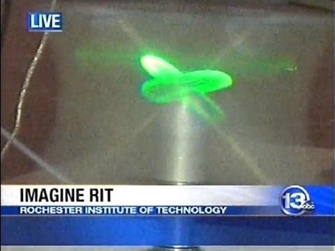 RIT on TV: Holograms at Imagine RIT