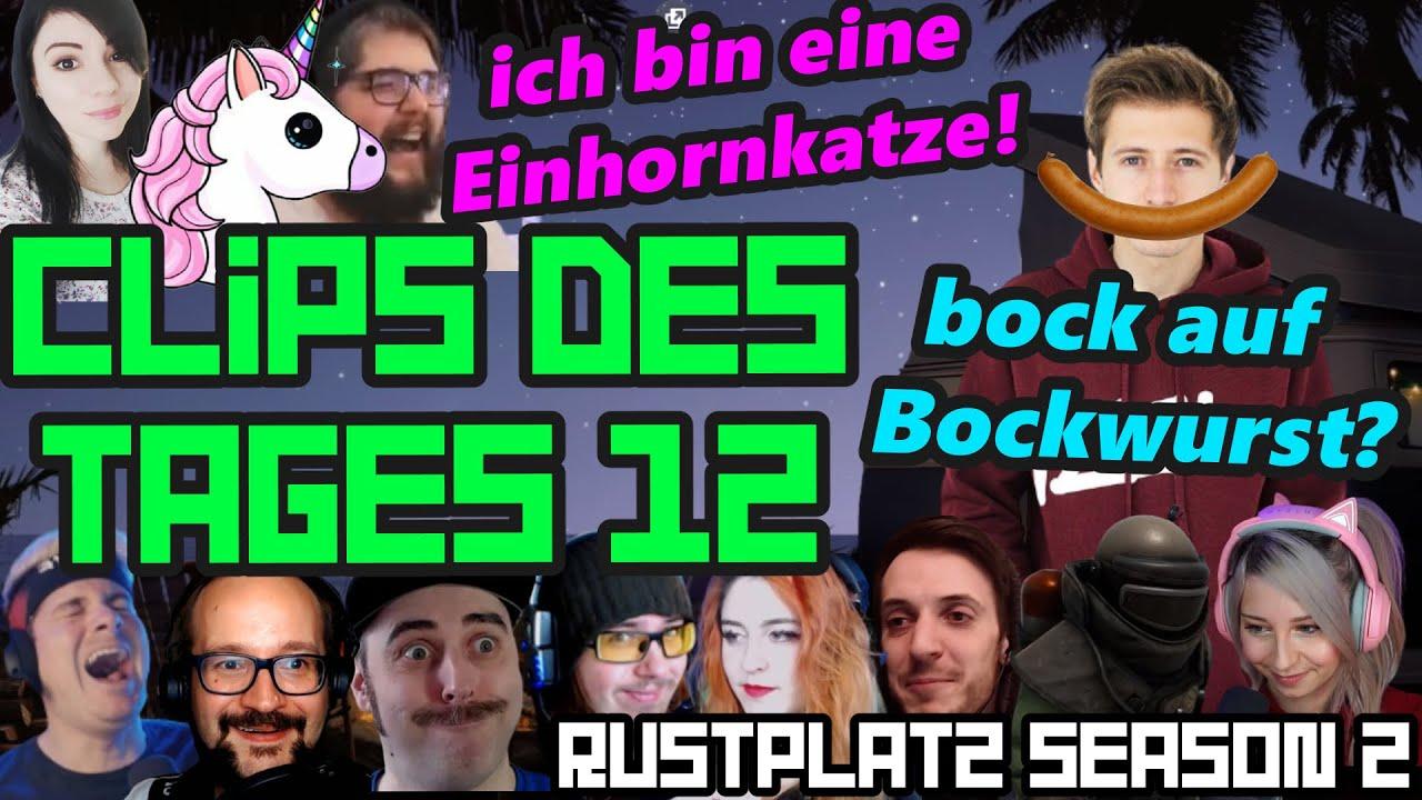 ITEMS ist eine EINHORNKATZE und IZZI will BOCKWURST | Clips des Tages 12 | Rustplatz Season 2