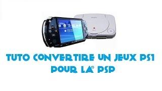 [TUTO] Convertire un jeux PS1 pour la PSP